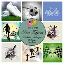 Dixi Craft - Toppers - Sport