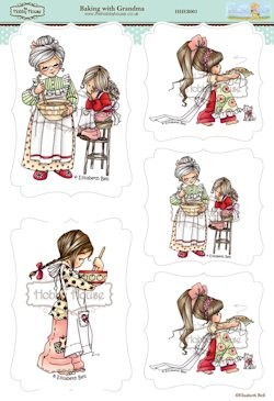 The Hobby House - Elisabeth Bell - Stansvel - Baking with Grandma