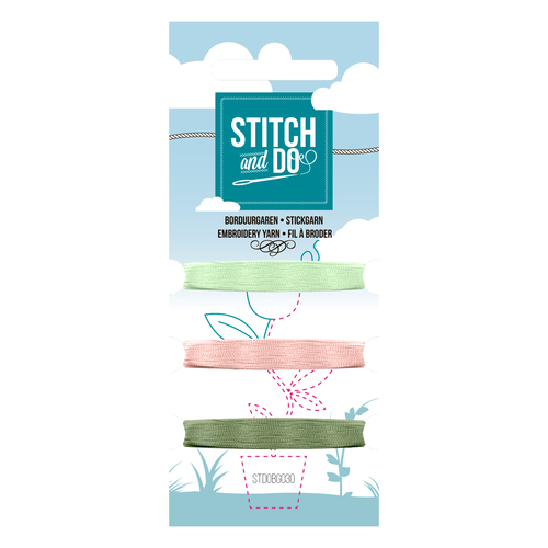 Card Deco - Stitch and Do - Mini Garenkaart 30