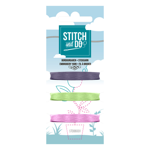 Card Deco - Stitch and Do - Mini Garenkaart 31