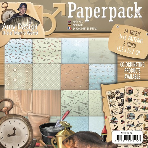 Amy Design - Paperpack - Its a Mans World