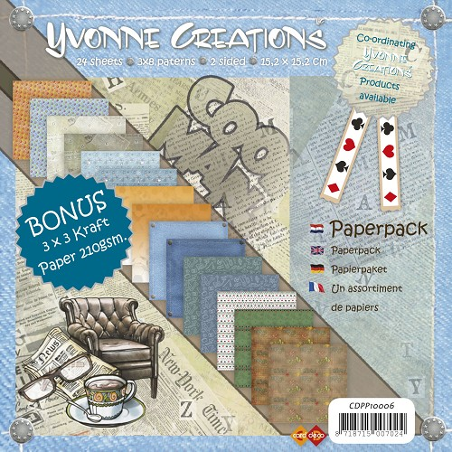 Yvonne Creations - Men - Paperpack