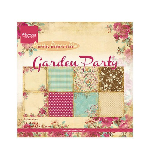 Marianne Design - Pretty Papers Bloc - Garden Party