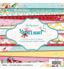 Studio Light - paper pad - Flower Delight