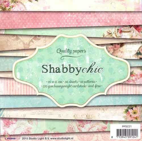 Studio Light - paper pad - Shabbychic