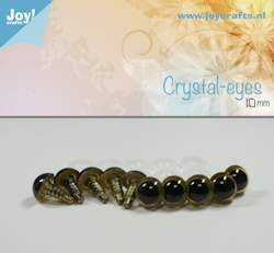 Joy!Crafts - Scrystal eye - Beige 10mm
