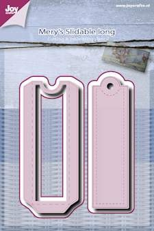 Joy!Crafts - Stencil - Mery slidable long