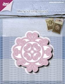 Joy!Crafts - Cutting & Embossing - Mery curly round