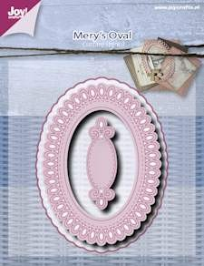 Joy!Crafts - Cutting & Embossing - Mery oval