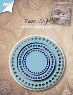 Joy!Crafts - Cutting & Embossing - Basis rond