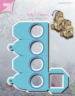 Joy!Crafts - Cutting & Embossing - Stencil Bille lantaarn