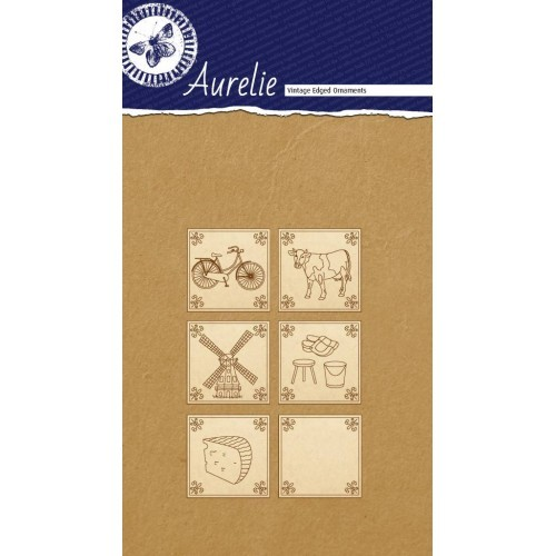 Aurelie - Vintage Edged Ornaments - Made In Holland