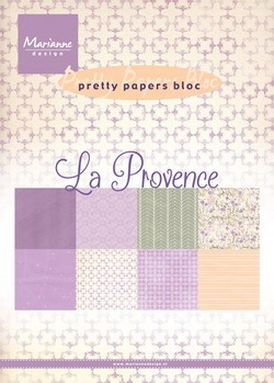 Marianne Design - Pretty Papers Bloc - La Provence