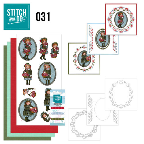 Card Deco - Stitch and Do - Borduurset 31 - Beterschap