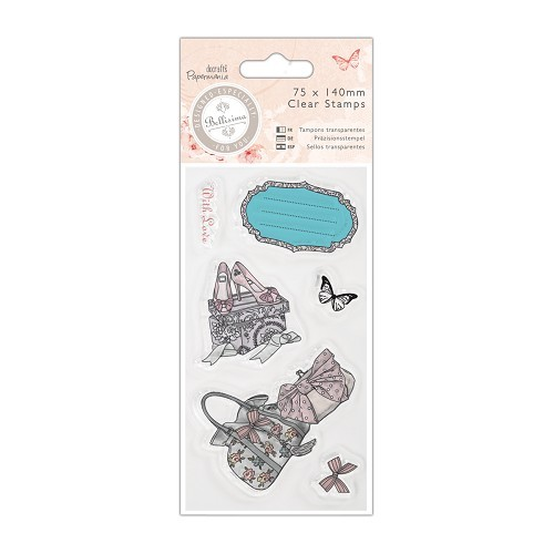DoCrafts - Clearstamp -Shoes & Bags