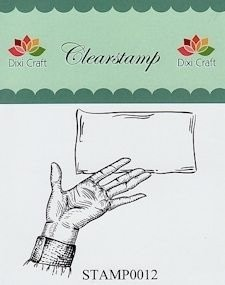 Dixi Craft - Clearstamp - Post