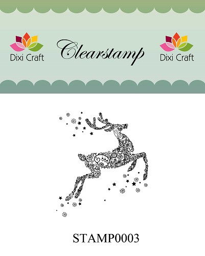 Dixi Craft - Clearstamp - Rendier