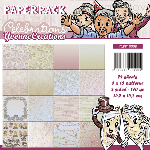 Yvonne Creations - Paperpack - Celebrations