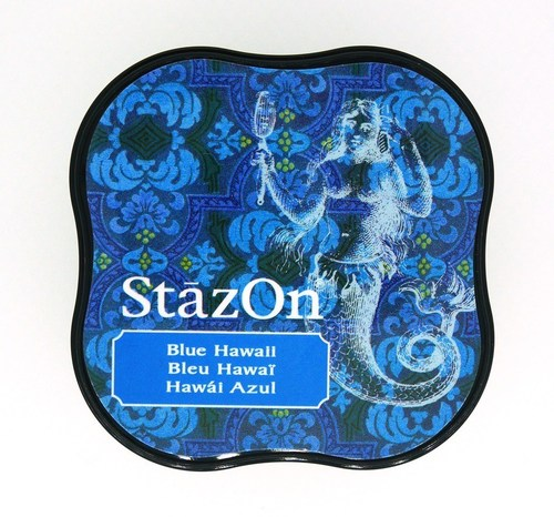 Stazon - Midi - Blue Hawaii