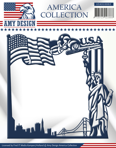 Amy Design - Die - America Collection - America Frame