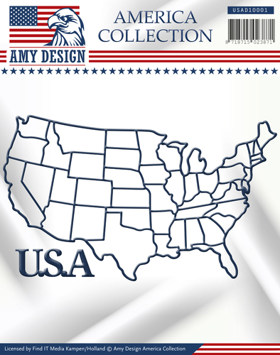 Amy Design - Die - America Collection - USA