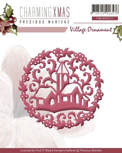 Precious Marieke - Die - Charming Xmas - Village Ornament