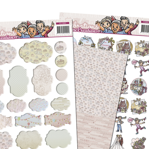 Yvonne Creations - 3D SET - Celebrations - Minis & Labels
