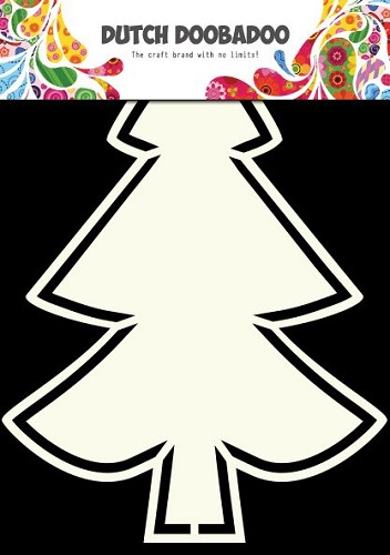 Dutch Doobadoo - Dutch Shape Art - Christmas tree 2