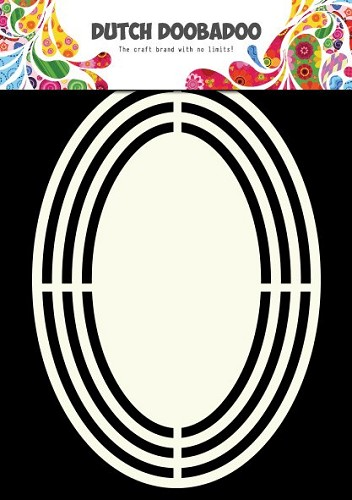 Dutch Doobadoo - Dutch Shape Art - Oval