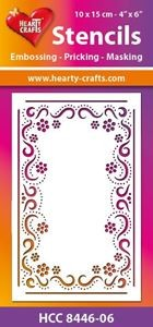 Hearty Crafts - Stencil -