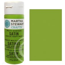 Martha Stewart - Satin Acryl - Green Curry