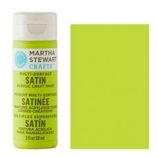 Martha Stewart - Satin Acryl - Granny Smith
