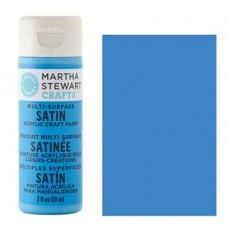 Martha Stewart - Satin Acryl - Blue Calico