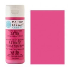 Martha Stewart - Satin Acryl - Raspberry Ice