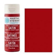 Martha Stewart - Satin Acryl - Tartan Red