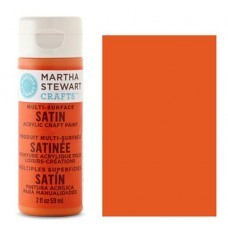 Martha Stewart - Satin Acryl - Carrot