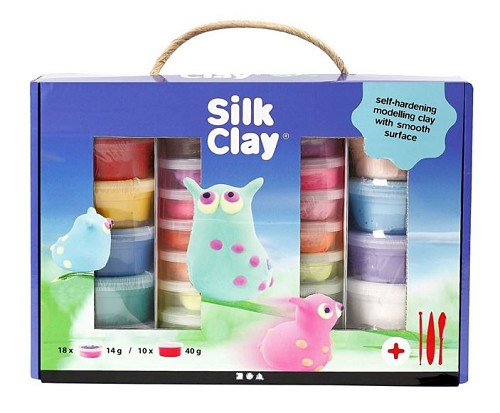 Silk Clay Set kleuren assorti
