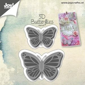 Joy!Crafts - Cutting & Embossing - 3D vlinders (2)
