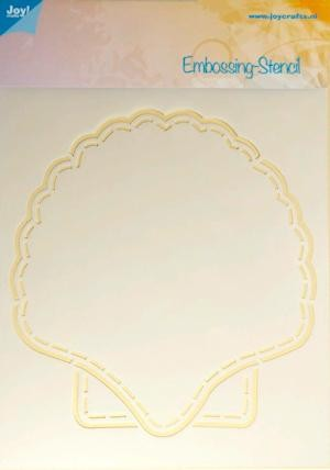 Joy!Crafts - Embossing - Schelp Astrid