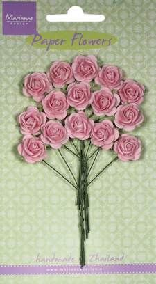 Marianne Design - Bloemen - Roses light pink