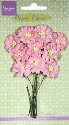 Marianne Design - Bloemen - Daisies light pink