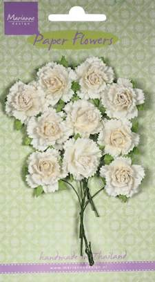 Marianne Design - Bloemen - Carnations white
