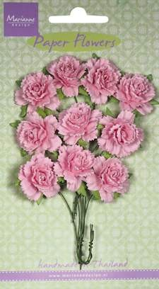 Marianne Design - Bloemen - Carnations light pink
