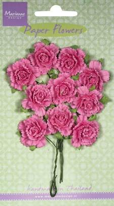 Marianne Design - Bloemen - Carnations bright pink