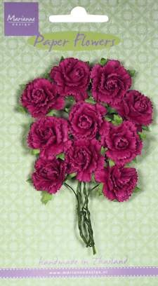 Marianne Design - Bloemen - Carnations medium pink