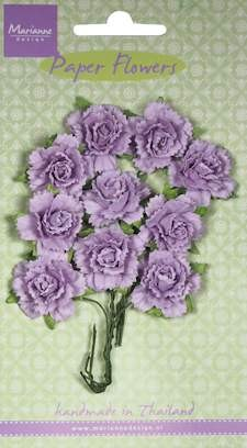 Marianne Design - Bloemen - Carnations light lavender
