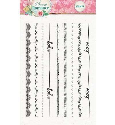 Studio Light - Clearstamp - Sweet Romance nr.130