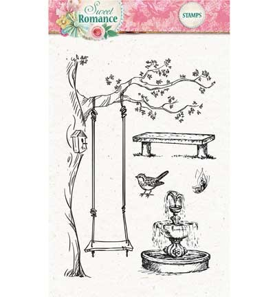 Studio Light - Clearstamp - Sweet Romance nr.129