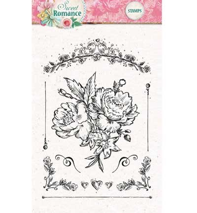 Studio Light - Clearstamp - Sweet Romance nr.128