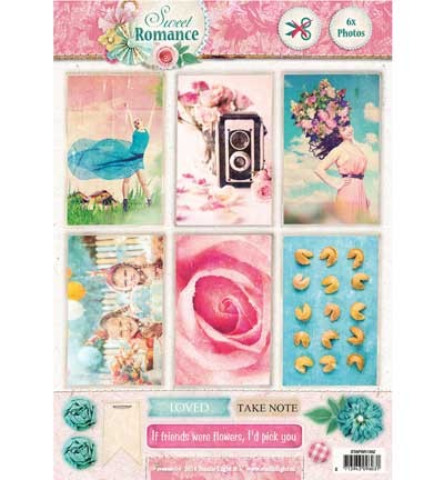 Studio Light - A4 Stap voor Stap - Sweet Romance nr.1362